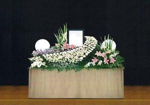 5号生花祭壇