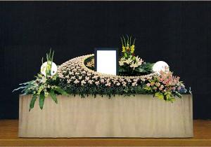 6号生花祭壇
