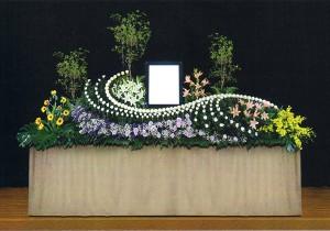 7号生花祭壇