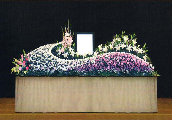 8号生花祭壇