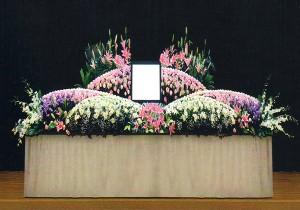 10号生花祭壇