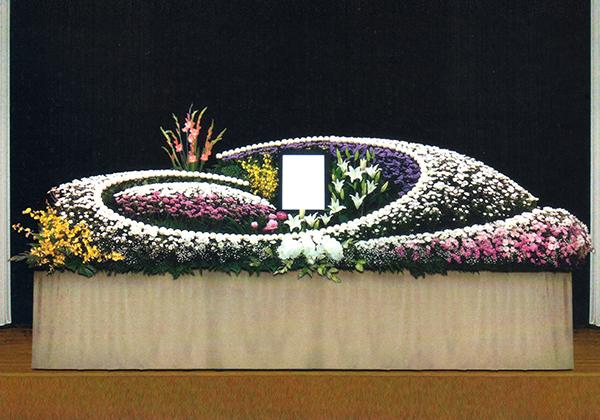 20号生花祭壇