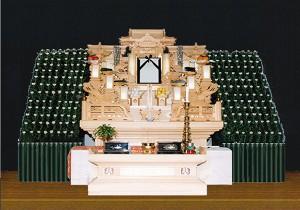 5号白木祭壇