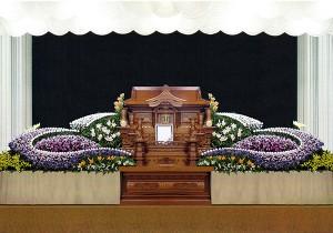 20号白木祭壇