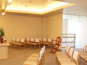 家族葬ホール(22席)