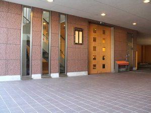 セレモニーホールふうりん(正面玄関)