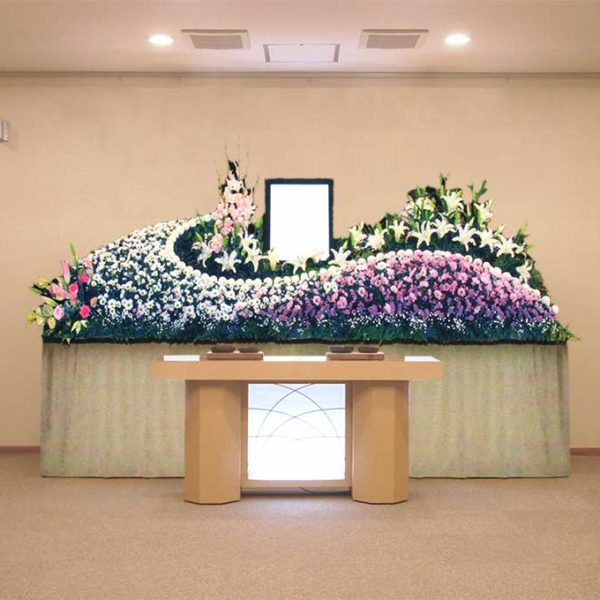 ホール8号生花プラン