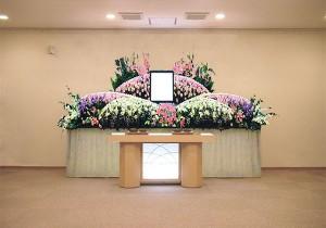 ホール10号生花祭壇