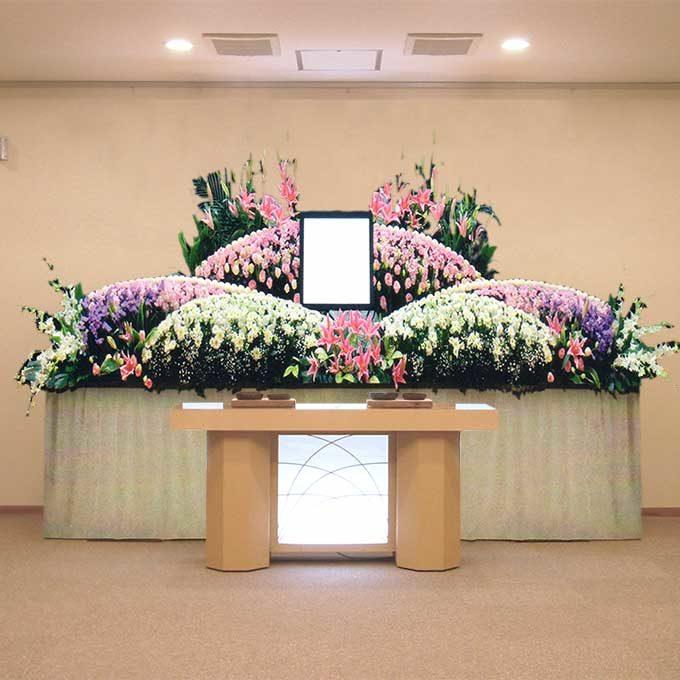 ホール10号生花プラン