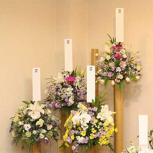 ふうりんの供花