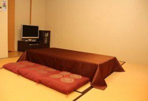 家族葬ホール和室控室